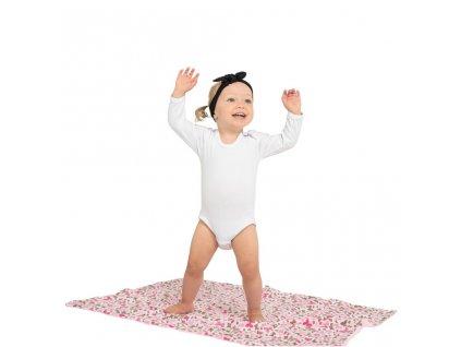 Luxusní body dlouhý rukáv New Baby