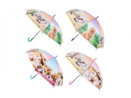 Deštník psi a kočky vystřelovací