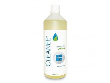 CLEANEE ECO Home hygienický čistič na OKNA - náhradní náplň 1 L