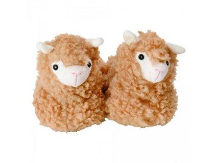 Bačkory lama - Velikost