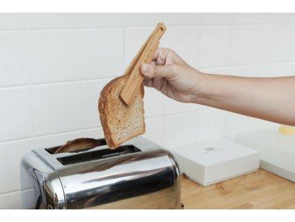 Dřevěné klapky na toasty