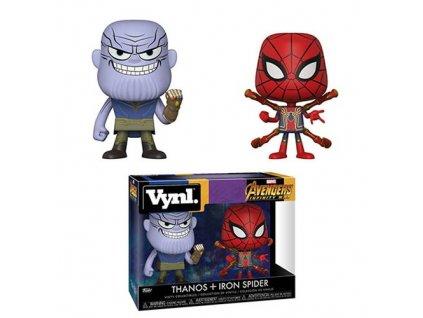 Avengers Infinity War: Thanos & Iron Spiderman