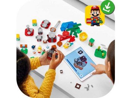 LEGO SUPER MARIO Mistrovská dobrodružství 71380 STAVEBNICE  + Dárek zdarma