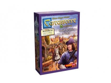 Carcassonne 6. rozšíření Král, hrabě a řeka