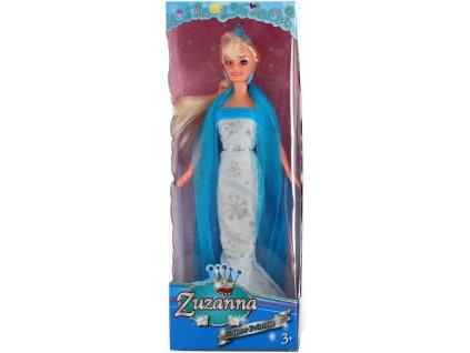 Panenka ledová princezna Zuzana 28cm pohyblivé končetiny 3 druhy