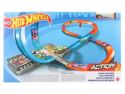 Hot Wheels Velká závodní dráha GGF92  + Dárek zdarma