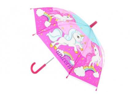 Deštník Jednorožci manuální
