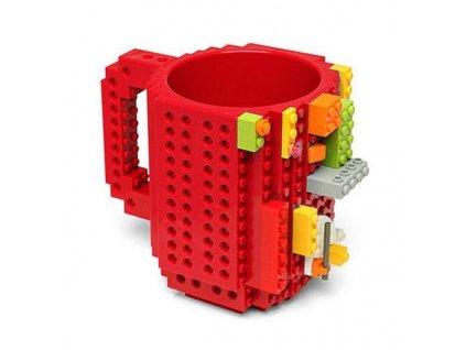 LEGO hrnek (Červený)