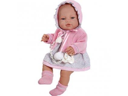 Luxusní dětská panenka-miminko Berbesa  + Dárek zdarma