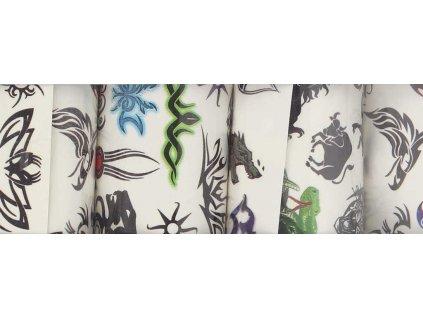 Tetování klučičí set 5 archů v sáčku