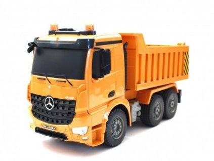 Sklápěč Dump Truck RC Mercedes-Benz Arocs  + Nanopodložka, loupač, nebo desinfekce