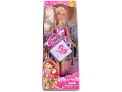 Panenka LUCY elegantní s nákupní taškou 2 barvy