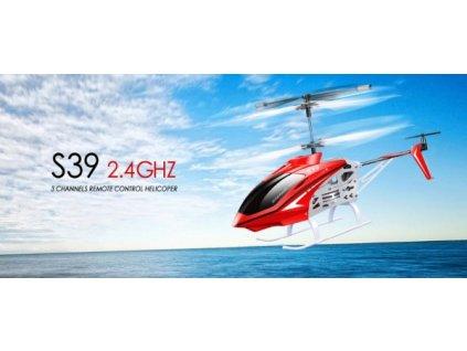 Raptor S-39 2,4Ghz - červená  + Dárek zdarma