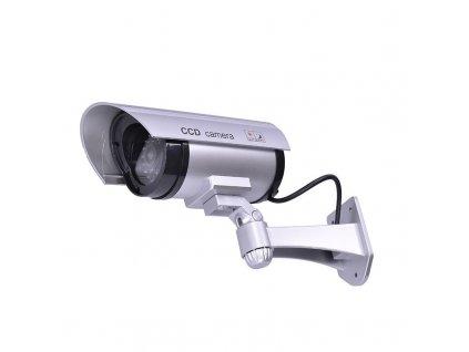 Solight maketa bezpečnostní kamery, na stěnu, LED dioda, 2 x AA