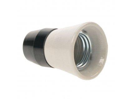 Solight objímka E27 keramika/plast 1332-146