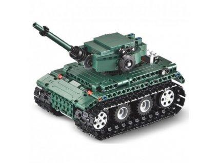 Stavebnice RC tanku – 313 dílků  + Dárek zdarma