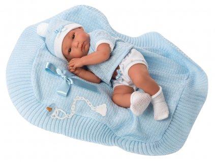 Llorens New Born chlapeček 63561  + Dárek zdarma