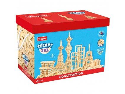 Jeujura Dřevěná stavebnice Técap 3XL 500 dílů  + Dárek zdarma