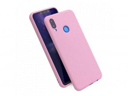 Silikonový kryt pro Xiaomi MI 8, růžový