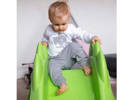 2-dílná kojenecká bavlněná soupravička New Baby Cute Bear