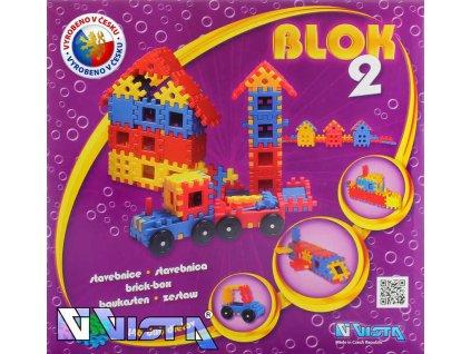 SEVA BLOK 2 Plastová STAVEBNICE 146 dílků