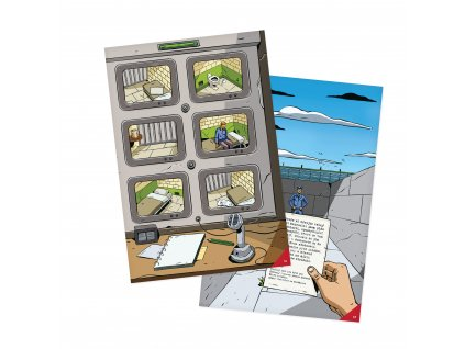 Kniha Útěk z Alcatrazu (Únikovka)