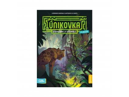 Kniha Ztraceni v Džungli (Únikovka Junior)