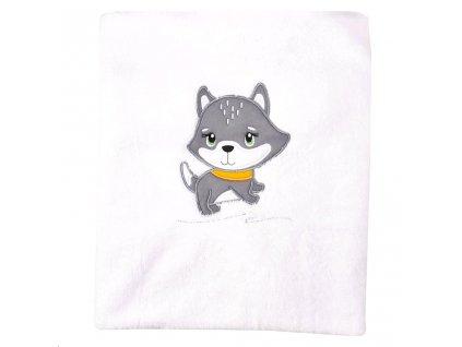 Dětská deka Koala Doggy - šedá