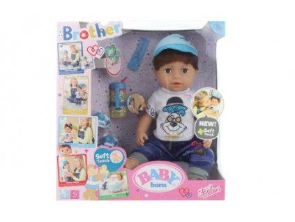 Starší bratříček BABY born Soft Touch, 43 cm  + Dárek zdarma