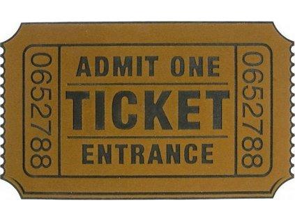 Rohožka Ticket