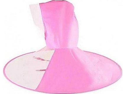 Handsfree pláštěnka na hlavu (M) - Růžová