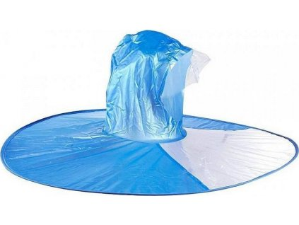 Handsfree pláštěnka na hlavu (L) - Modrá