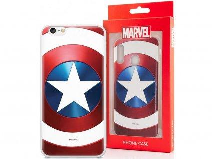 iPhone 7 Plus / 8 plus - silikonový kryt Marvel Amerika
