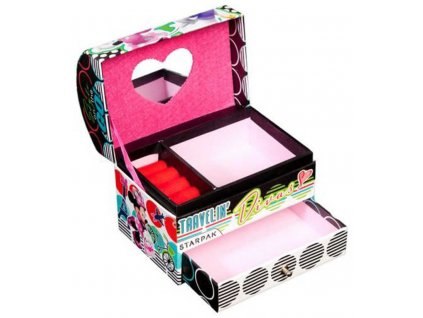 STARPAK Šperkovnice Disney Minnie Mouse 13x12x9cm karton