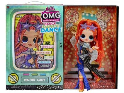 L.O.L. Surprise! OMG Velká ségra Dance MAJOR LADY panenka 15 překvapení