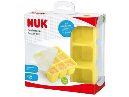 Mrazící formička silikonová NUK - žlutá