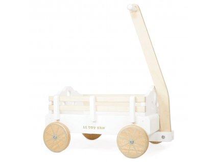 Le Toy Van Vozík na kolečkách  + Dárek zdarma