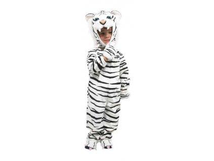 Small Foot Kostým bílý tygr