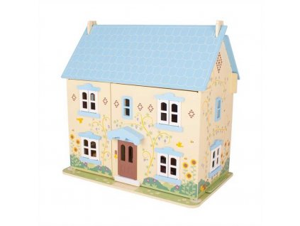 Bigjigs Toys Slunečnicový domek pro panenky