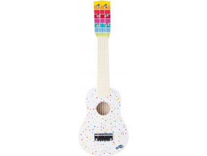 Small Foot Dřevěná kytara s puntíky