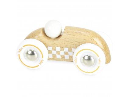 Vilac Dřevěné auto mini rallye přírodní