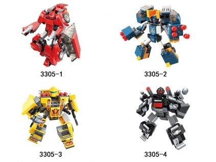 Qman Blast Ranger 3305 sada 4 kusů