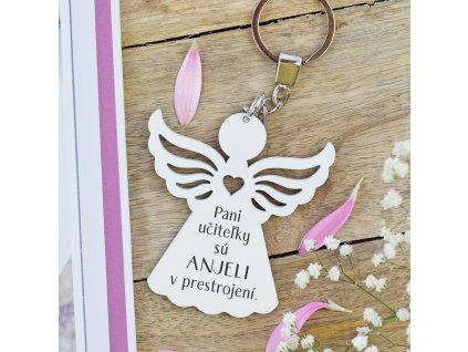 Klíčenka anděl - Andělé v přestrojení (pro paní učitelky) SK