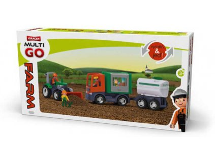 EFKO IGRÁČEK MultiGO sada velká Farma v krabici