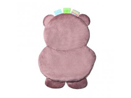 Plyšová hračka Baby Ono Flat Bear Todd - hnědá