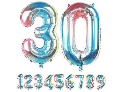 Nafukovací balónky čísla - 0
