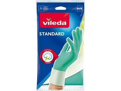 Standard rukavice gumové, velikost M, 1 pár