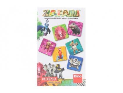 Pexeso - Zafari