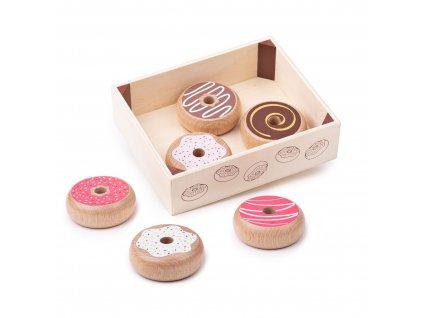 Bigjigs Toys Krabička s donuty