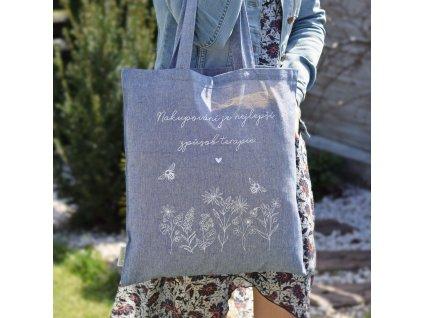 HOUSEDECOR Nákupní taška - Nakupování je terapie